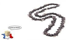chaîne 72 maillons pour tronçonneuse 0.325 1.5mm 72 maillons