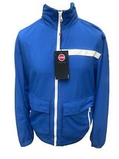 COLMAR 'Progress' Casual Men's jacket in bright blue Size 50 M 🚀BARGAIN🚀