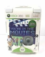 NEW You're In The Movies XBox 360 NIB 2008 SEE DETAILS