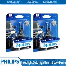 H1 Philips 2PCS Headlight Light Bulb Hi/lo Beam Kit For 2002-2004 Acura RSX BY08