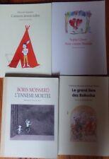 4 LIVRES , L' ECOLE DES LOISIRS -  MAXIMAX ET ANIMAX / VOIR TITRES