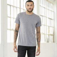 Bella + Canvas 3413 Tri Blend Short Sleeve T-Shirt Soft Style 35 COLORS AVAILABL