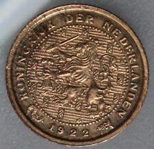 Nederland - The Netherlands 1/2 cent 1922 - halve cent 1922 - KM# 138 - nice!
