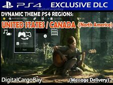 The Last Of Us Part 2 Duality Dynamic Theme PS4 DLC | US / Canada (NA)
