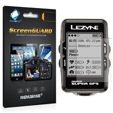 3 Membrane PROTEGGI SCHERMO per Lezyne SUPER GPS Glossy Cover Protezione