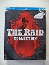 The Raid 2/The Raid: Redemption Blu-ray Disc 2017 2-Disc Set Brand NEW!