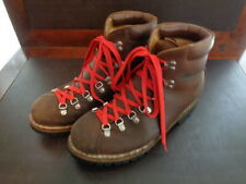 Vintage Raichle Mens size 10M Leather Extreme Hiking Mountaineering Boots