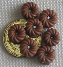 1:12 SCALA 7 Loose cioccolato amaretti Dolls House Cibo Per Torte Accessorio PL127