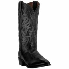 Dan Post Men's Milwaukee Western Cowboy Leather Boots DP2110R Black