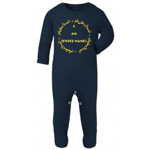 Personalised Name Arabic Name Custom Islamic Islam Baby Bodysuit Baby Sleepsuit