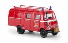 Brekina 90465 1:87 H0 Set MB L319 mit Feuerwehr und THW 2teilig NEU//OVP