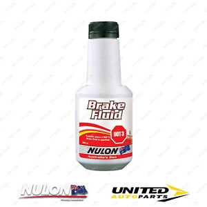Brand New NULON Dot 3 - Brake Fluid 500ML for SUZUKI Alto 1985-1989 BF3 Brake