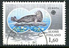 Finland Stamp Scott #735 Europa Seals 1986