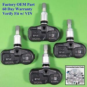 Set of 4 TIRE PRESSURE SENSOR TPMS OEM 40700-JK01B 60 day warranty SET-TS51