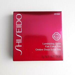 Shiseido Luminizing Satin Eye Color Trio GY901 Blue Silver White        #145