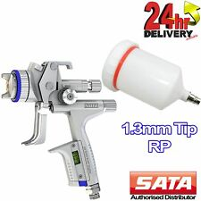 SATA Jet 5000 B RP Nozzle 1.3mm Tip DIGITAL Guage 0.6l Paint Cup Spray Gun