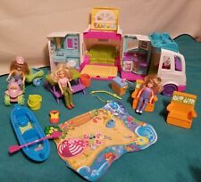 Fisher Price Loving Family Beach Vacation Mobile Home Family Camping Accessories