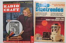 Radio Electronics - Raccolta di 34 anni dal 1948 al 1981 - 391 numeri