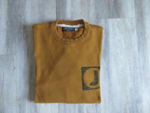 "pull homme JACK & JONES ""Core workwear"" taille XL ocre en cotonTBE"