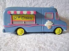 Bloom Room Littles 5.25� x 2.5� Resin Ice Cream Truck Fairy Garden Miniature - N