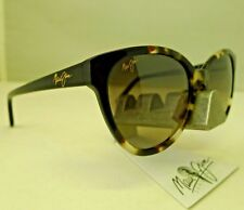 MAUI JIM SUNSHINE MJ GS725-61 TORTOISE NEUTRAL GREY POLARIZED SUNGLASSES NEW 9.9