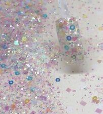 glitter mix acrylic gel nail art    IVETTE
