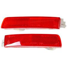 Pair Rear Bumper Reflector LH RH Fit For Nissan SENTRA QUEST MURANO KICKS JUKE
