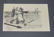 CPA CARTE POSTALE GUERRE 14-18 1914 PATRIOTIQUE HUMORISTIQUE F. PARACINI
