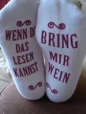 Bring Mir Wein Socken socks - for the German wine lover !