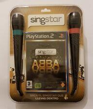 Singstar ABBA+Microfonos playstation 2 (PS2) Pal España NUEVO/SELLADO de fabrica