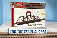 AHM 11025 OPERATING BLINKING BRIDGE. HO SCALE. NEW IN BOX.