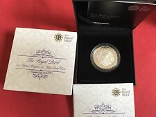 2015 RM Royal Birth Princess Charlotte Silver Proof £5 Five Pounds Crown Coin