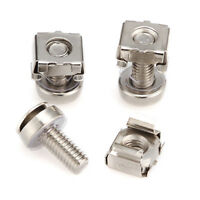 M6 Mounting Screws & Cage Nuts for Server Rack Cabinet Rack Mount Bolts 16/20mm