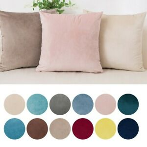 Velvet Home Decoration Sofa Outdoor Cushion Cover Pillow 40x40cm A Pack Of 2