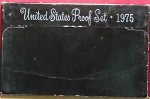 Uncirculated 1975 United States Proof Set