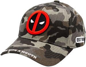 Deadpool Merc With A Mouth Camo Baseball Cap