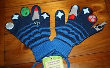 Kidorable Space Hero Gloves Mittens Blue Size S