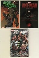 Rocket Raccoon and Groot, Ant-Man Prelude, X-Factor Marvel TPB Graphic Novels