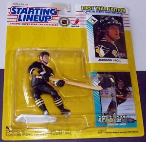 1993 JAROMIR JAGR #68 Pittsburgh Penguin NM Rookie *FREE s/h* Starting Lineup