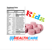 Childrens Chewable Multi-vitamin 30 tablets A-Z Vitamins (Months Supply)