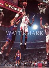Michael Jordan Dunk Over Charles Barkley 8x10 Photo Chicago Bulls Basketball