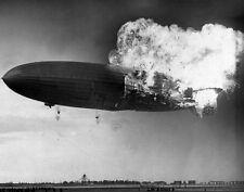 "The Hindenburg Lakehurst, New Jersey LARGE SIZE Photo Print 11x14"""