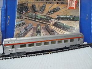 TRAIN ECHELLE HO JOUEF WAGON DE VOYAGEURS TYPE INOX TEE DE LA SNCF au 1/87 ème B