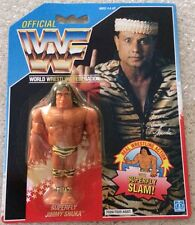 WWF SUPERFLY Jimmy SNUKA HASBRO Official MOSC 1990