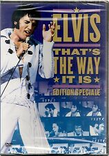 """DVD """"THAT'S THE WAY IT IS"""" - ELVIS PRESLEY    neuf sous blister"""