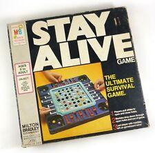 Vintage Strategy Game STAY ALIVE Milton Bradley Co. #4105 ©1971 Original
