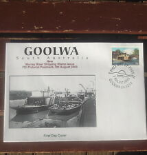 Goolwa Murray River Shipping Illustrated First Day Cover 2003