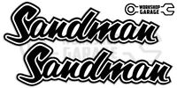 Holden HQ - HJ -  SANDMAN BLACK  XX Large Decal  - Stickers