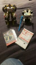 Lot Of 2 Vintage Transformers Jazz and Downshift