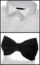 Men's Regular Double Cuff Tuxedo, Dress Formal Shirts